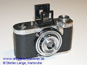 Zeiss Ikon Tenax I (Version mit Klappsucher)