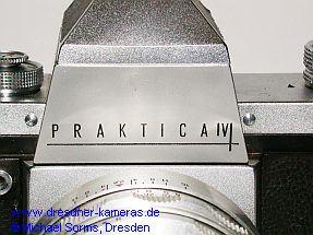 Praktica IV - Variante mit Strichgravur