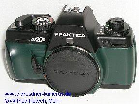Praktica BX 20 S in der grün-schwarzen Ausführung
