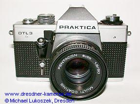 Praktica DTL 3 mit Pentacon auto 1,8/50