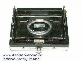 Praktica FX-Service-Variante (wechselbarer Lichtschacht)