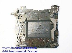 Stahllamellenschlitzverschluss (Vorderseite)
