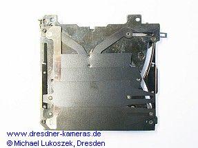 Stahllamellenschlitzverschluss (Rückseite)