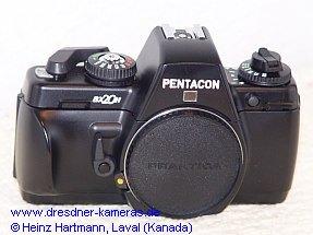 Pentacon BX 20 H (Halbformat-Musterkamera)