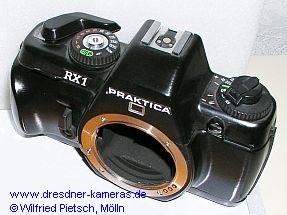Praktica RX1 – Studie zum zukünftigen Kameradesign