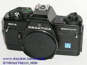 Praktica BCA with label Pentacon Italia