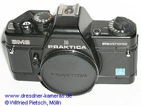 Praktica BMS with label Pentacon Italia