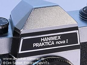 Hanimex Praktica nova I (with different lettering)