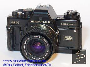 Jenaflex AM-1 (Praktica BC 1, 1th version, ASA-setting knob and rewind-crank of metal)