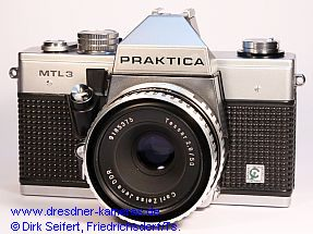 Praktica MTL 3 with label Cattaneo