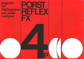 Manual of Porst Reflex FX 4 P