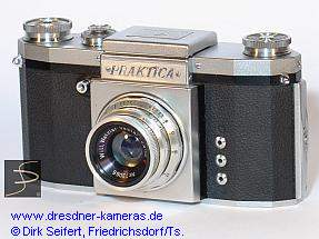 Praktica (Praktica FX, with Praktica-label, font italic)