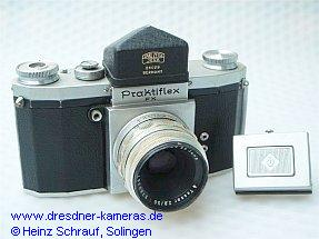 Praktiflex FX, service-version with prism-attachment